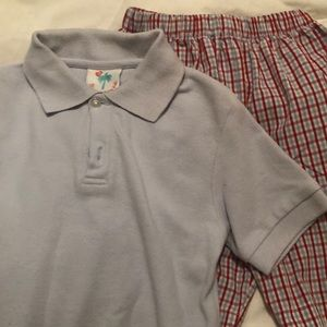 Shrimp & Grits Kids Boys Short Set